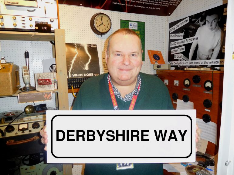 Coventry Music Museum director, Pete Chambers BEM, campaigned to have the road named in Delia Derbyshire's honour. s