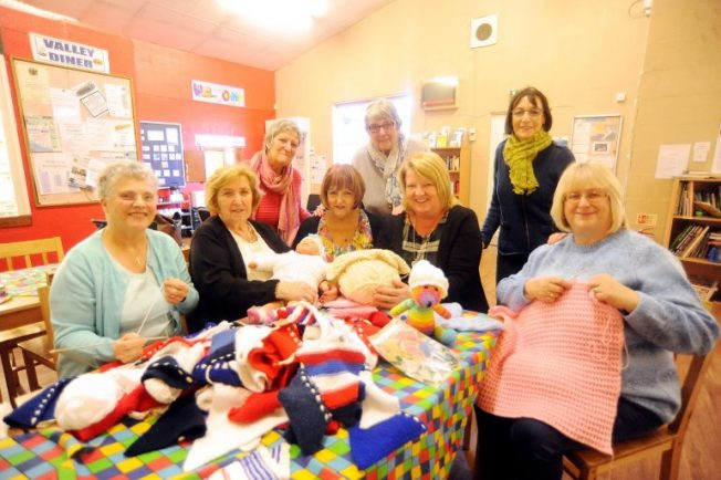 Knitting Club Book : Stoke heath knitting group saved thanks to charitable