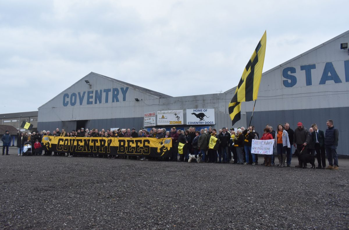 Save Our Bees Lifetime Coventry Bees Fans Turn Out In