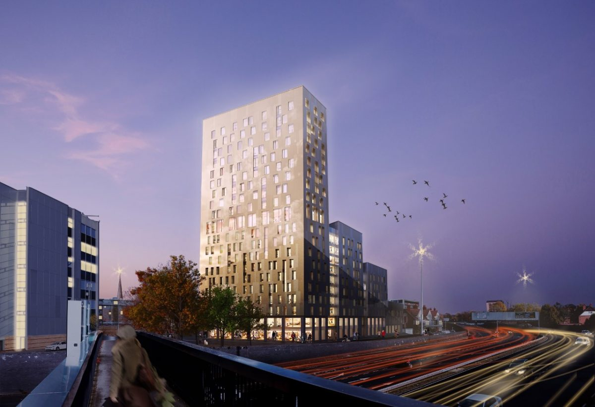 Multi storey city centre student accommodation plan gets for The coventry
