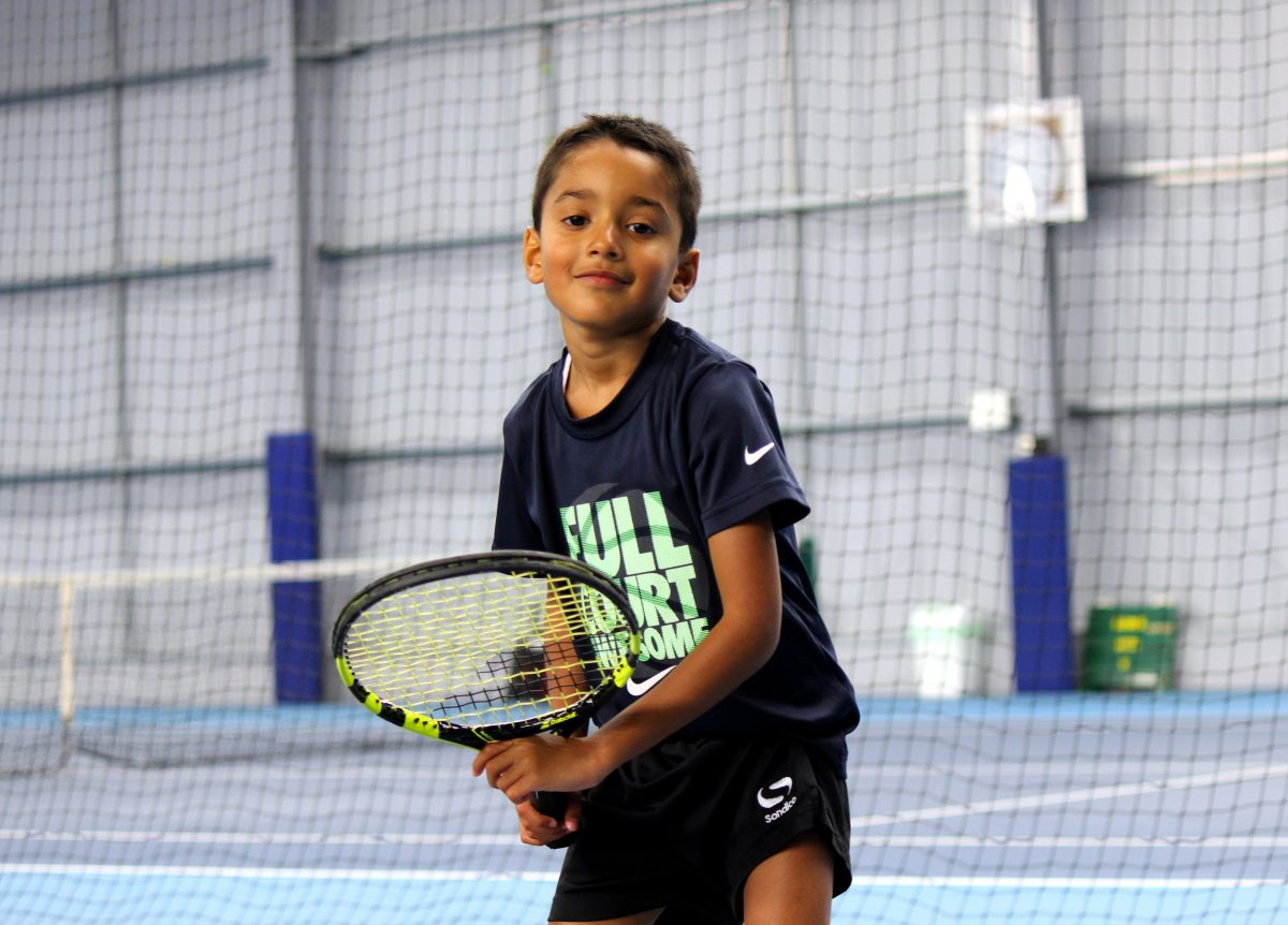 The University of Warwick Tennis Centre team is hoping to encourage young and old alike to pick up a racket and inspire the next generation of British players 1.'